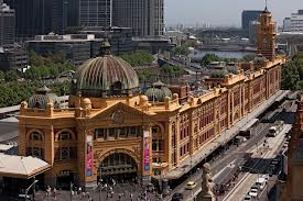 Flinders St Railway Station