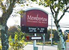 Membertou Welcome Sign