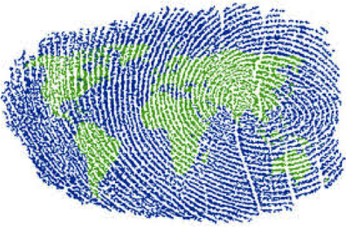 world-thumbprint