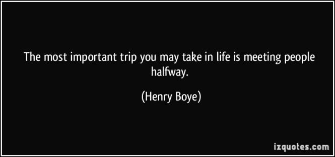 meet halfway