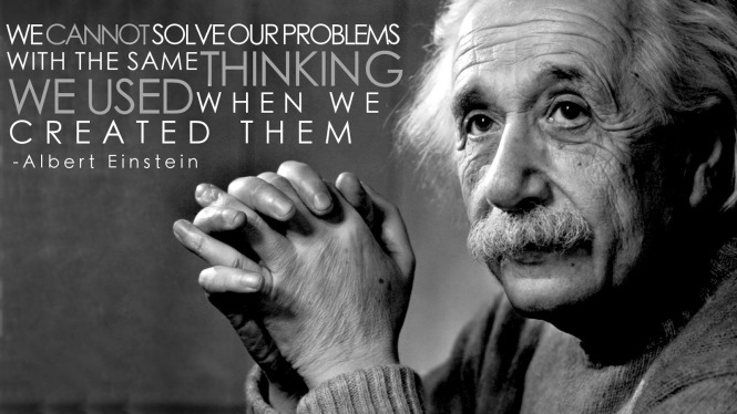 einstein - solving problems